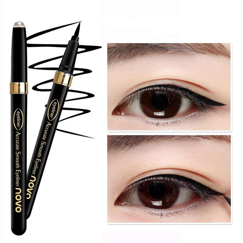韩国眼线液笔防水持久不晕染黑色速干大眼部彩妆正品初学者眼线笔