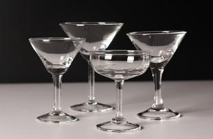 鸡尾酒杯马天尼杯玛格丽特杯三角杯香槟酒吧调酒杯红酒杯包邮