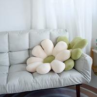 北欧风小雏菊抱枕ins花朵床头上靠枕沙发靠垫飘窗民宿太阳花坐垫
