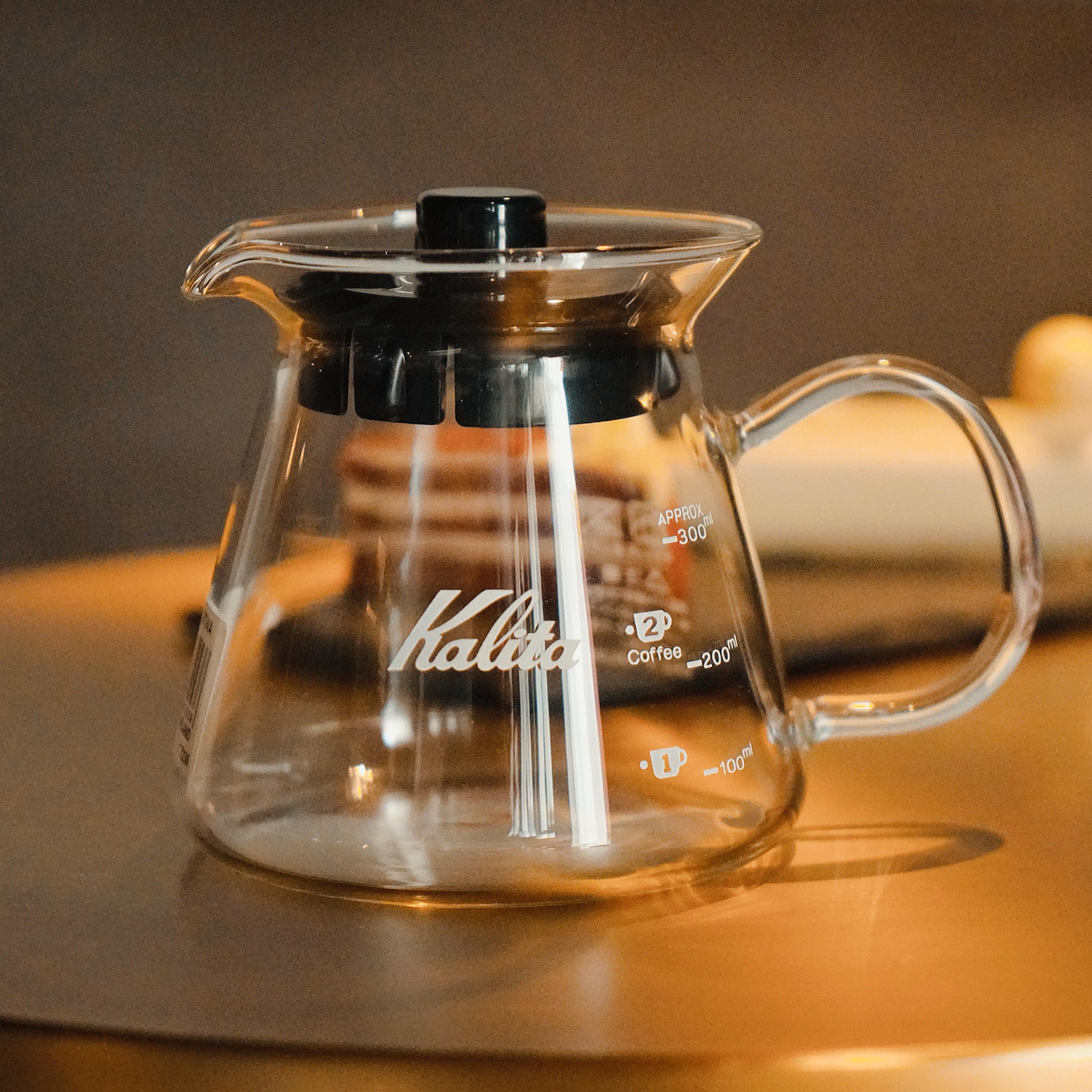 日本kalita卡莉塔咖啡分享壶玻璃手冲咖啡壶套装家用滴漏式滤壶