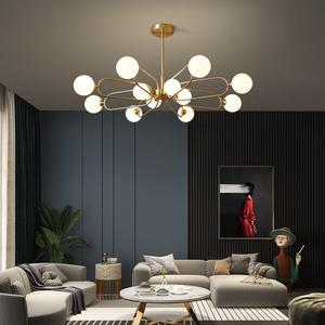全铜客厅后现代简约2021年吸顶灯