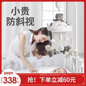 贝易床铃宝宝床头音乐旋转婴儿玩具