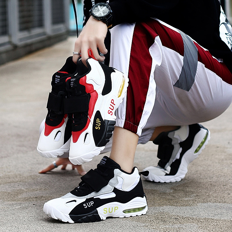Friends shoes junior high school basketball winter mens shoes basketball middle school boyfriends sports shoes like plush gifts