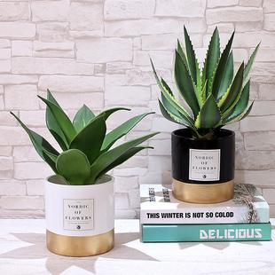 北欧仿真植物ins风装饰家居摆件卧室假盆栽小摆设客厅创意桌摆花