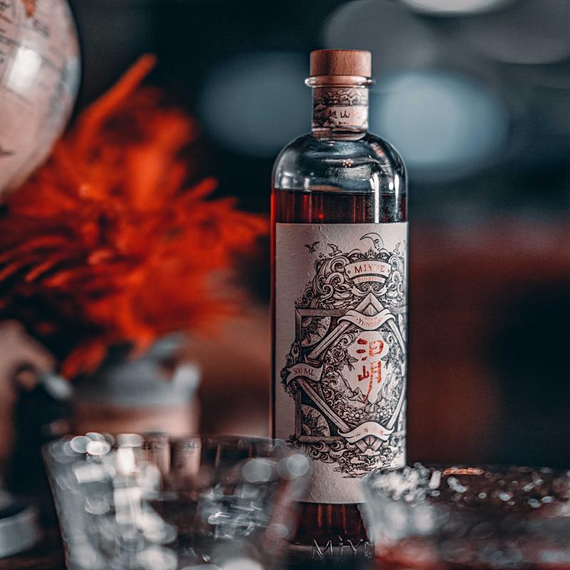 汩岄山海玫瑰礼盒装 滇红重瓣玫瑰手酿玫瑰花酒露酒