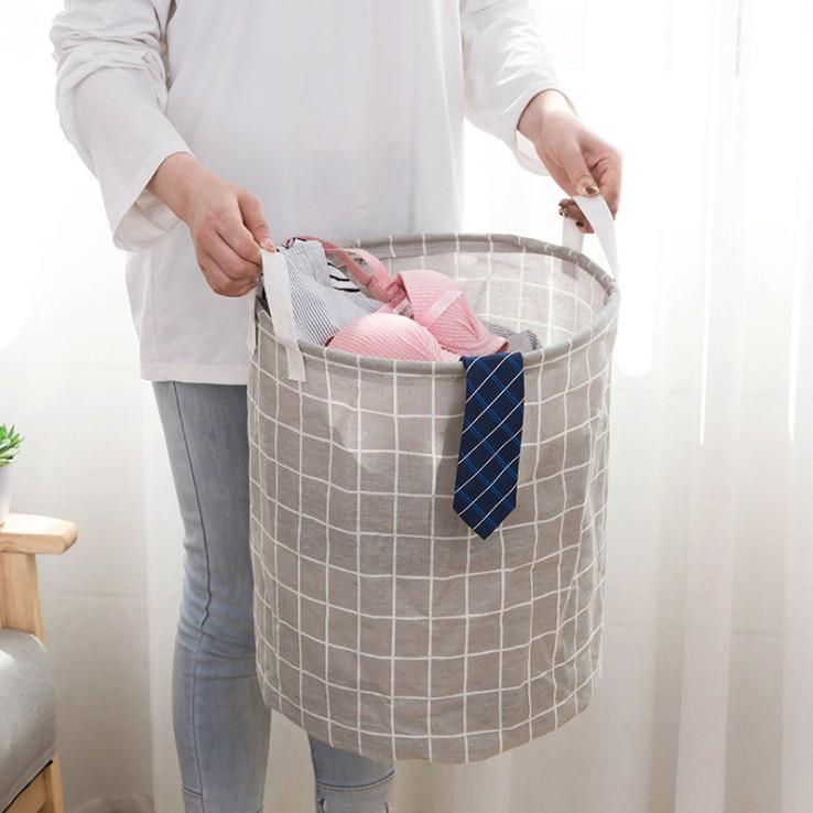 布艺脏衣篮浴室可折叠防水脏衣篓玩具收纳篮洗衣篮脏衣服收纳筐