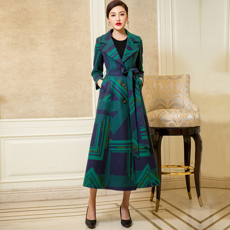 New high grade cashmere coat in winter of 2019