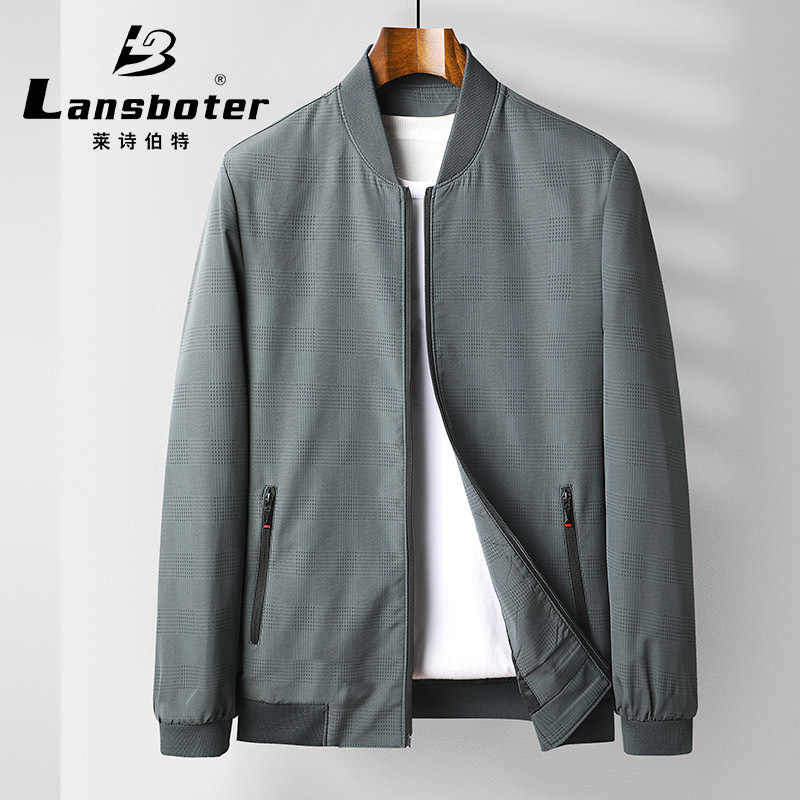 Brand authentic spring baseball collar jacket mens thin jacket jacket mens jacket