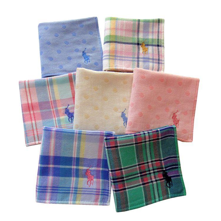Export new Japanese original single Baoluo pure cotton mens and womens baby handkerchief