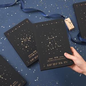 十二星座日记本星座本子学生记事本笔记本子手账本少女心生日礼物