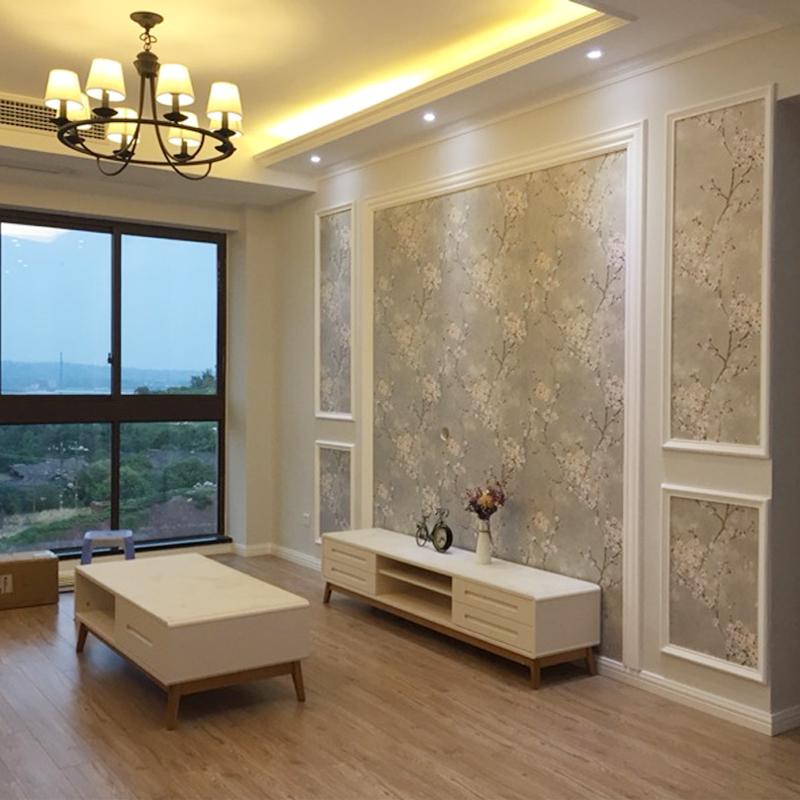 欧式高档奢华壁纸现代简约大气印花墙纸北欧风客厅卧室电视背景墙