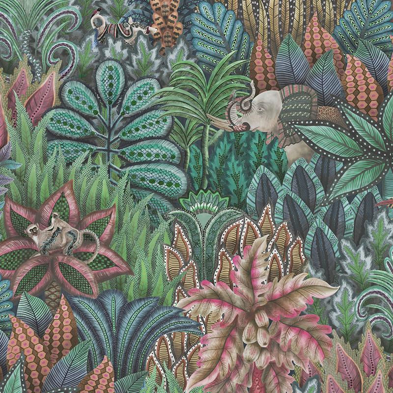 英国进口科恩森壁纸 南非动植物 客厅卧室电视背景墙 纯纸墙纸