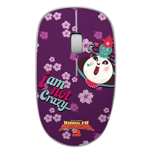 雷柏3500P功夫熊猫定制版无线鼠标 正版 鼠标 雷柏鼠标