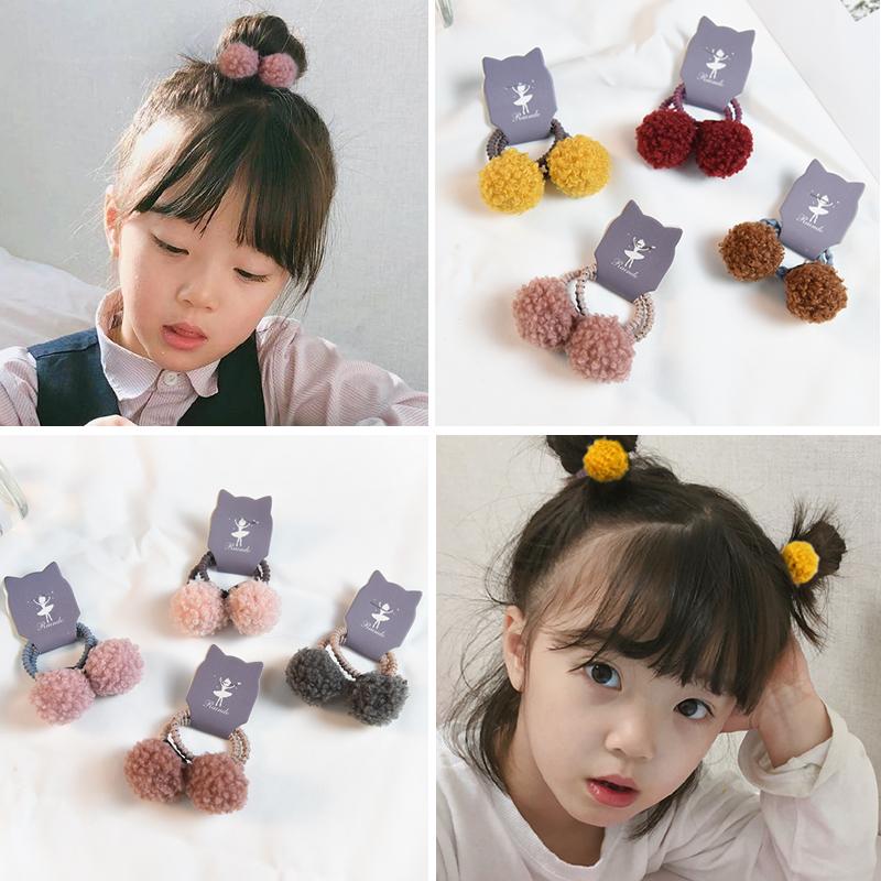韩版不伤发发绳可爱扎头发橡皮筋头绳儿童发饰女孩宝宝发圈头饰品