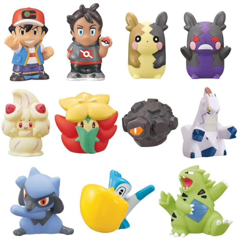 Pokemon, baokemeng, Japans Bandai authentic, playing around with fingers, playing with eggs, aluminum steel dragon