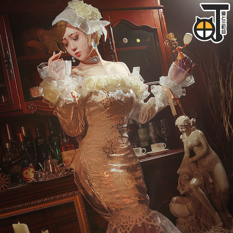The fifth personality cos clothing flavorer spot no longer dress Cosplay dress
