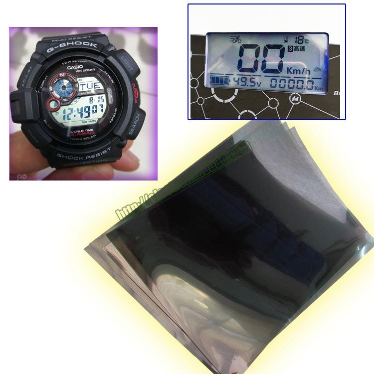 10寸萬能液晶偏光膜電動車圖像顯示屏幕手錶電瓶車大張手機偏光片