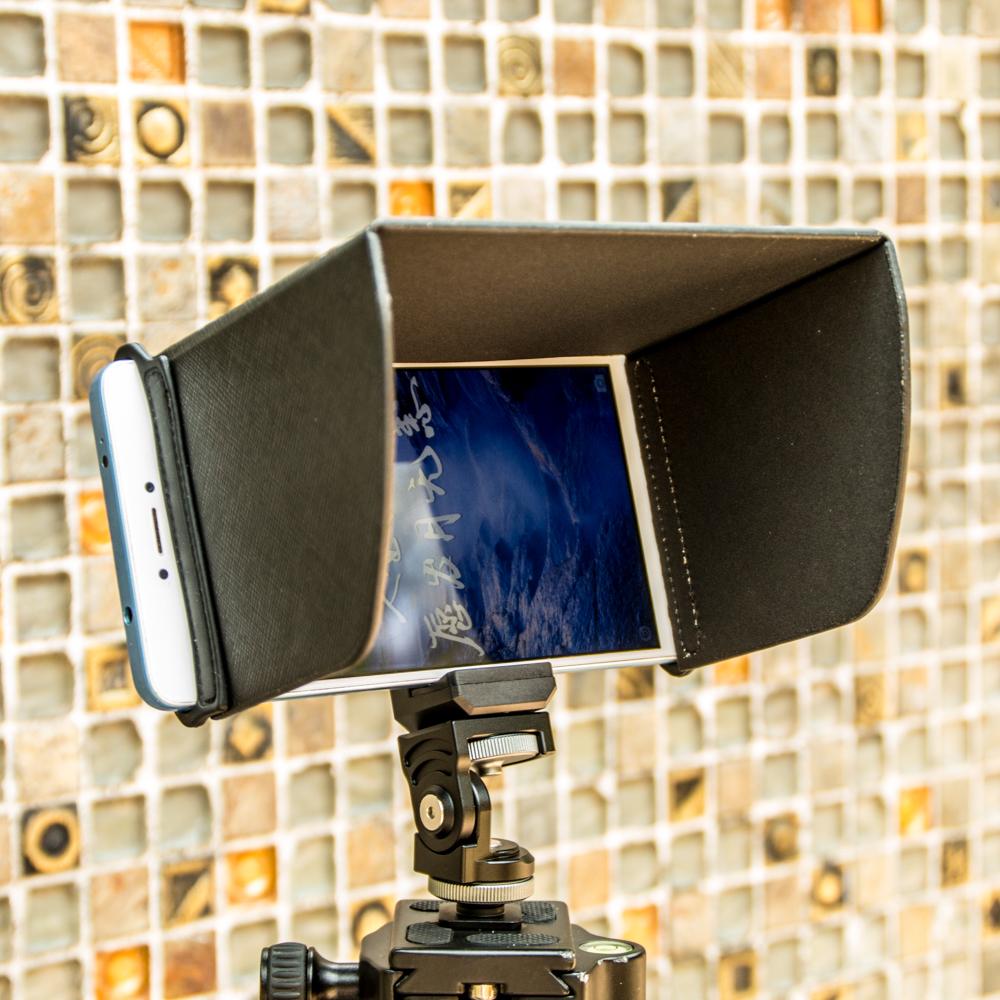 2019新款 手机遮光罩 单反监视器通用 大疆精灵遥控器 挡光遮阳板