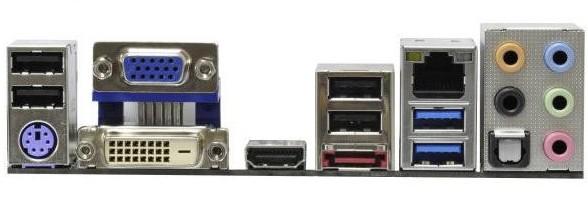 全新  华擎 H61M-ITX 挡板档片 定做华擎主板档板 机箱挡板挡片