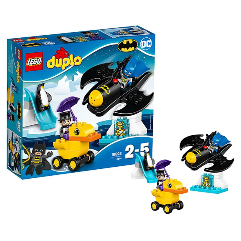 LEGO Lego building block Debao series 10823 bat wing adventure large particle childrens assembled toys
