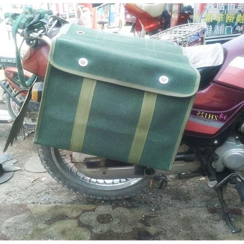 袋新品邮袋加大帆布驼工具包鞍挂包摩托车员邮包邮局。快钓