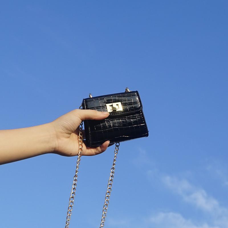 Classic retro printed old flower Mini Wallet Key bag card Bag Messenger Bag childrens fashion bag girls small bag