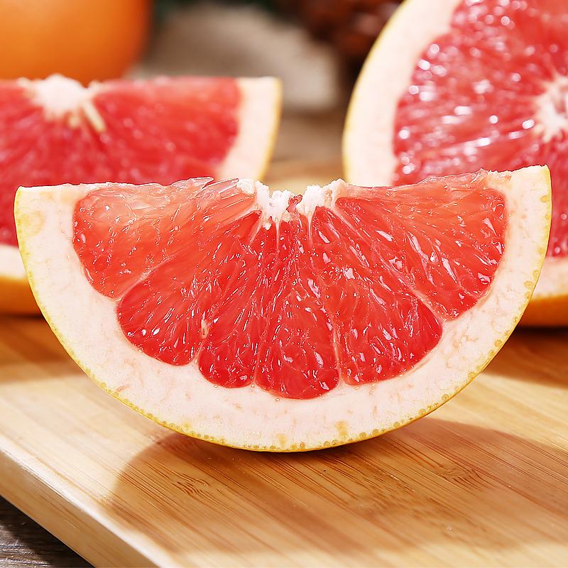 熙果 红心南非西柚葡萄柚进口红肉西柚新鲜水果6个装坏果包赔