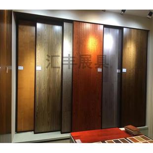 木地板展示架 瓷砖推拉柜 瓷砖展示架 左右平推平移展架300 600