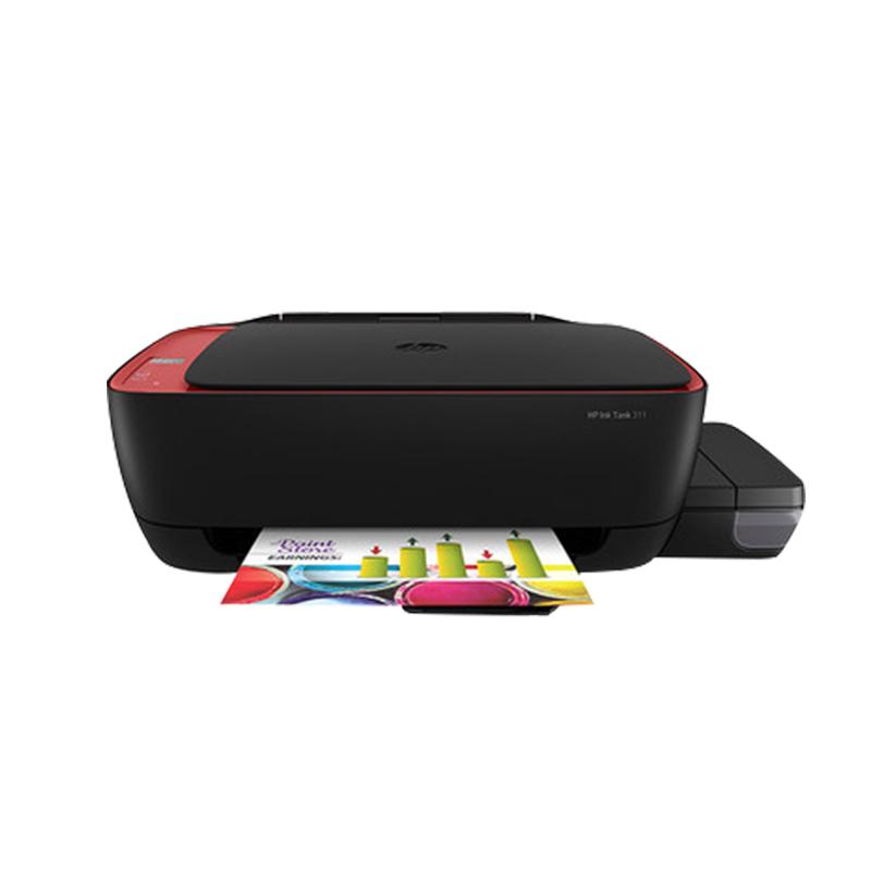 HP惠普tank411彩色喷墨连供打印机一体机家用小型办公手机无线wifi学生照片多功能复印件扫描三合一 替GT5820