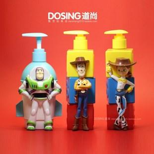 正版 總動員 巴斯光年 胡迪 裝沐浴露/洗手液空瓶子 玩具人偶模型