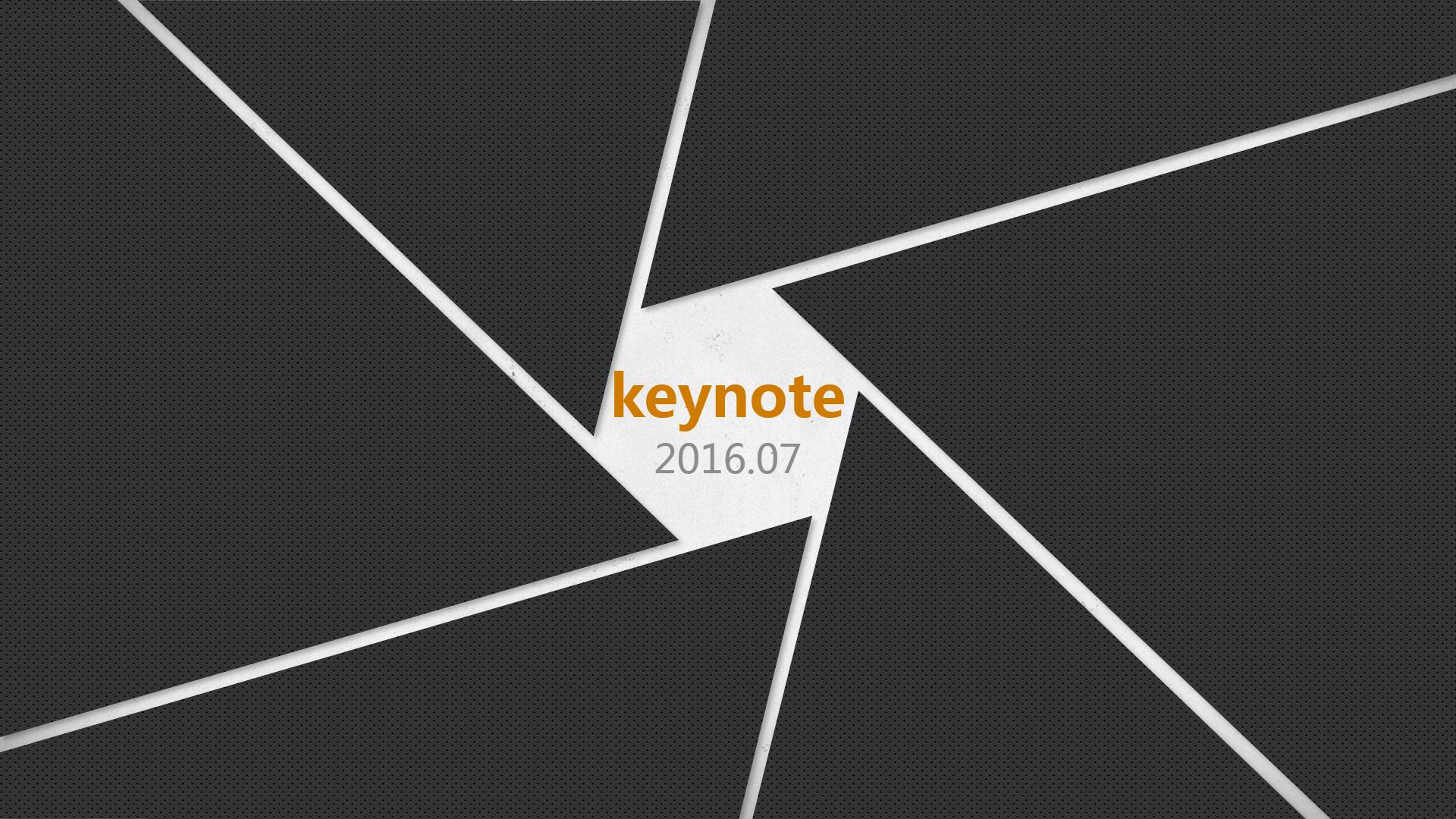 右侧导航栏式商业宣讲mac keynote模板