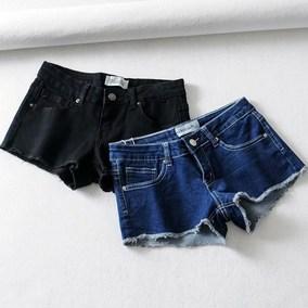 超弹包臀显瘦牛仔2020夏时髦女热裤