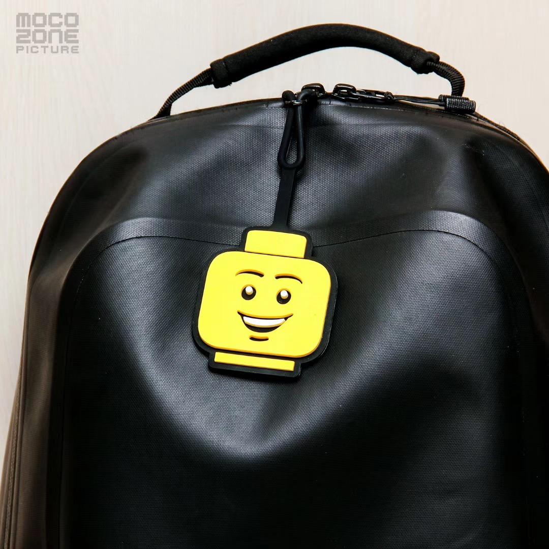 全新正品乐高周边LEGO行李箱吊牌行李牌登机牌 2个包邮12-01新券