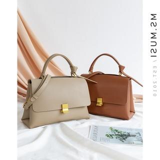 小众设计包包2020新款潮ck手提包女真皮时尚百搭单肩包斜挎包女包