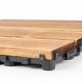 浴室拼接地板块pvc方块组合地板垫办公楼门头阳台防蛀简易碳化木