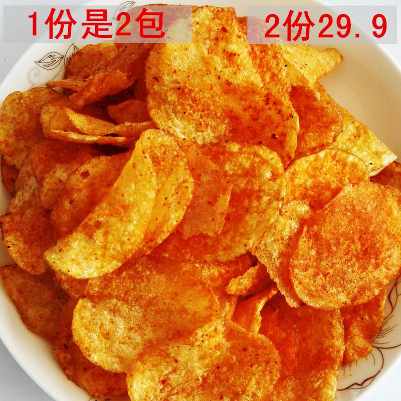 贵州特产麻辣土豆片瓮安小吃儿时怀旧零食经典90后80后袋装洋芋片