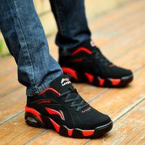 李宁男鞋运动鞋秋冬季跑步鞋青少年潮鞋休闲老爹鞋保暖加绒男鞋子