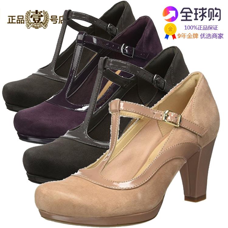 春夏Clarks英国其乐女凉鞋简约高跟休闲女鞋单鞋代购Chorus Pitch