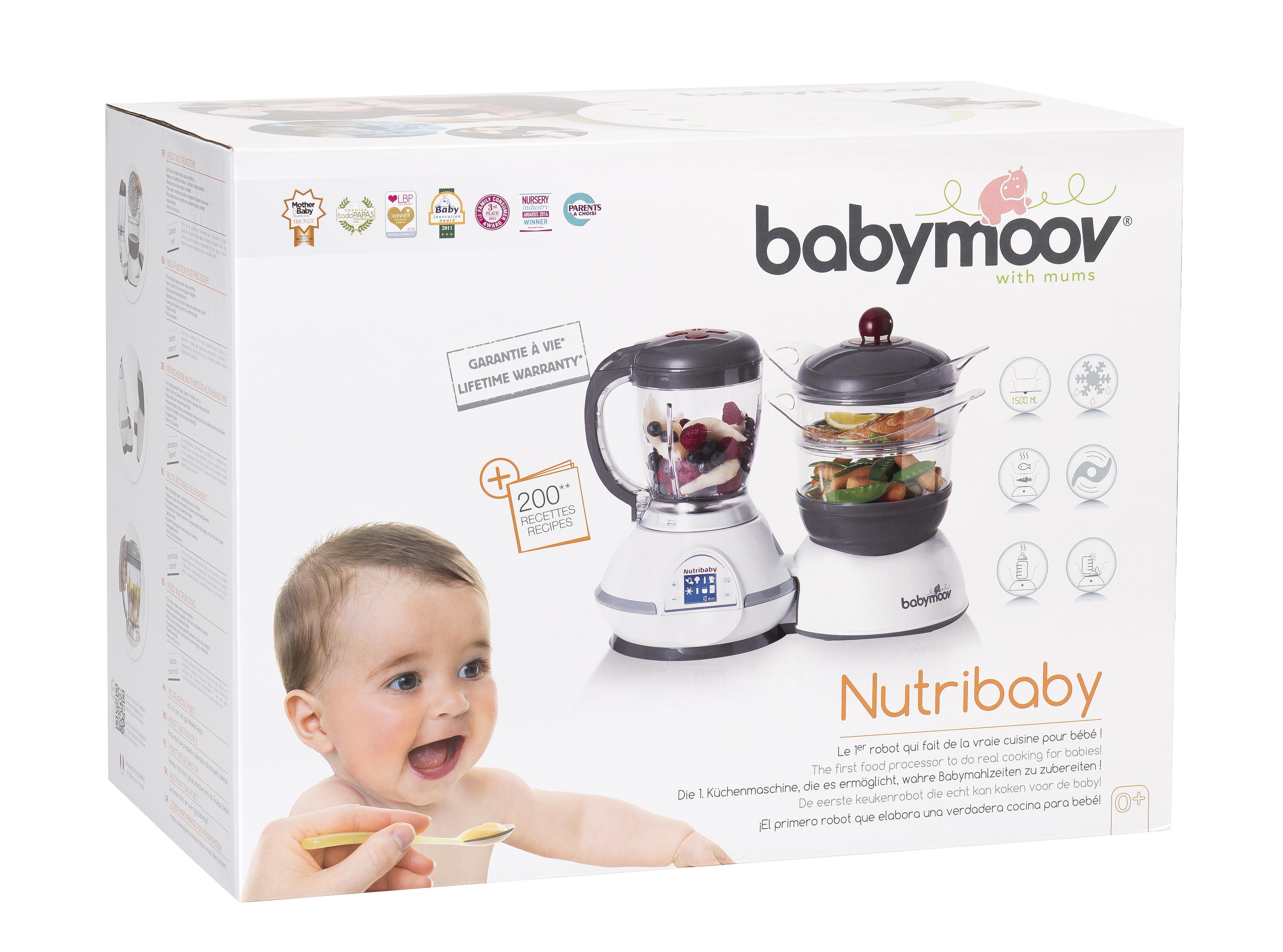 【特价】爆款Babymoov多功能辅食机和加湿器和宝宝餐碗容器组