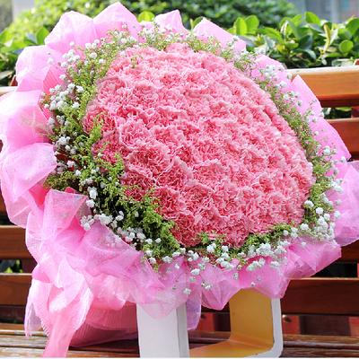 妇女母亲节康乃馨百合花束天津河北区河西区红桥鲜花同城送花上门