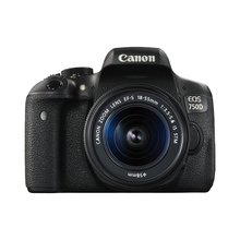 Directly imported from Japan Canon imported 750D SLR EOS18-55 kit HD digital camera entry level
