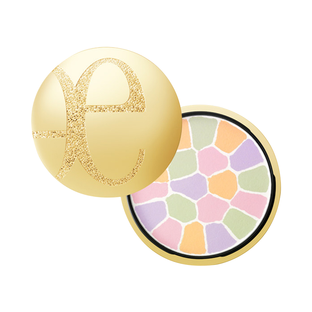 Elegance Yali grace, honey, powder, moisturizing, makeup, cake, 27g, oil control, and constantly shrink pores.