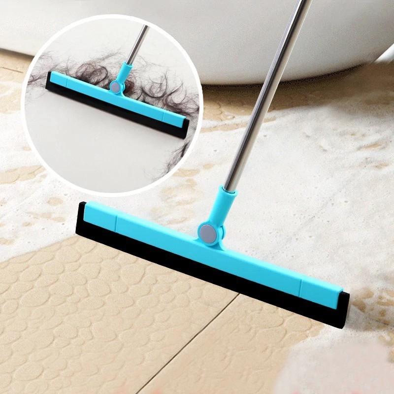 拖把头干湿脱水家庭/个人清洁工具地板卫生间用刷洗澡间刮水器
