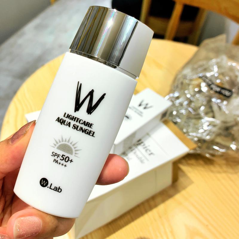 韩国wlab防晒霜水做的防晒w.lab面部隔离乳防紫外线SPF50清爽正品限2000张券
