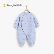 Donte new newborn clothes cotton jumpsuit baby warm underwear thickening baby crawl clothes autumn winter