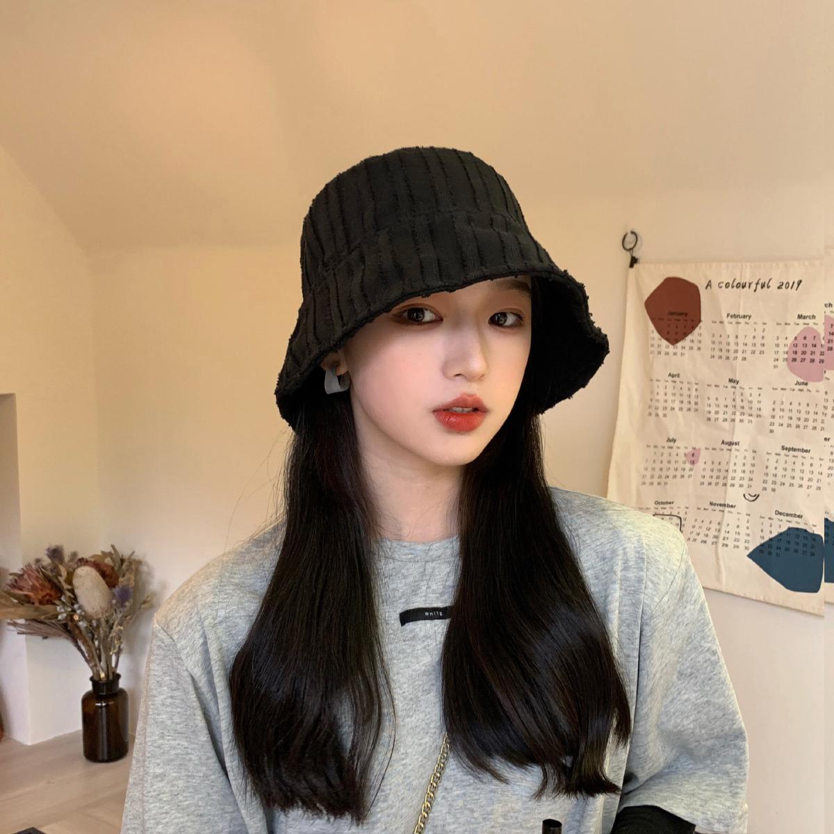 中國代購|中國批發-ibuy99|女士帽子|小边渔夫帽太阳冒子女帽防晒夏天女士帽子洋气漂亮的2021流行女帽