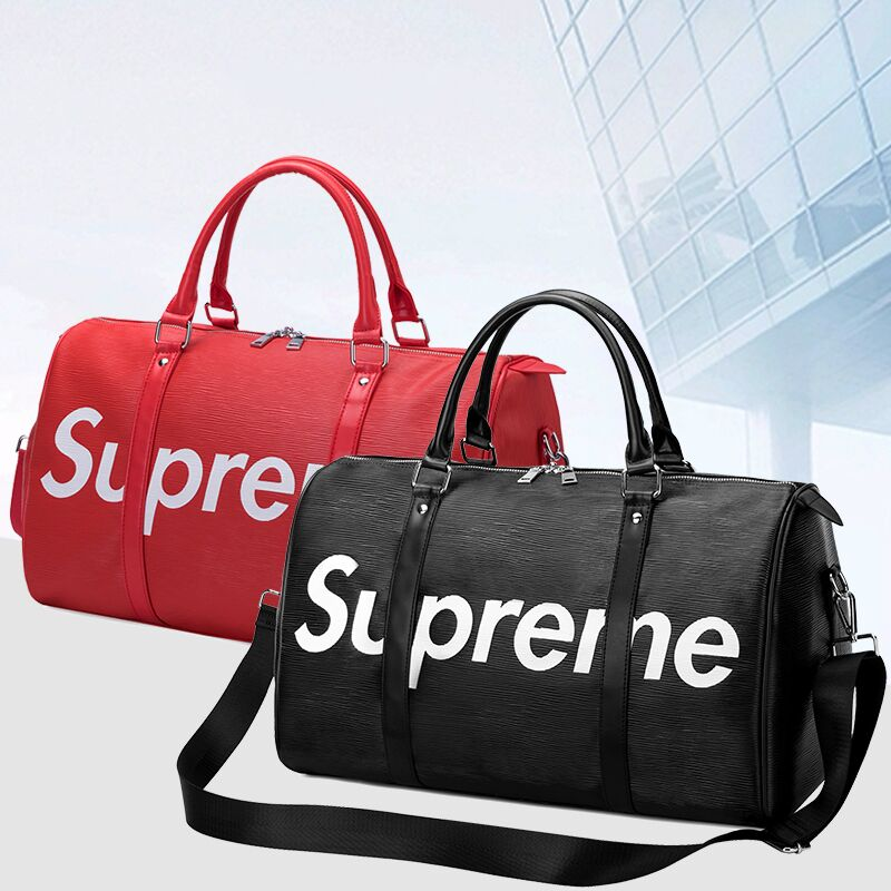 2021 new portable travel bag large capacity business trip luggage bag dry wet separation men and women sports fitness bag