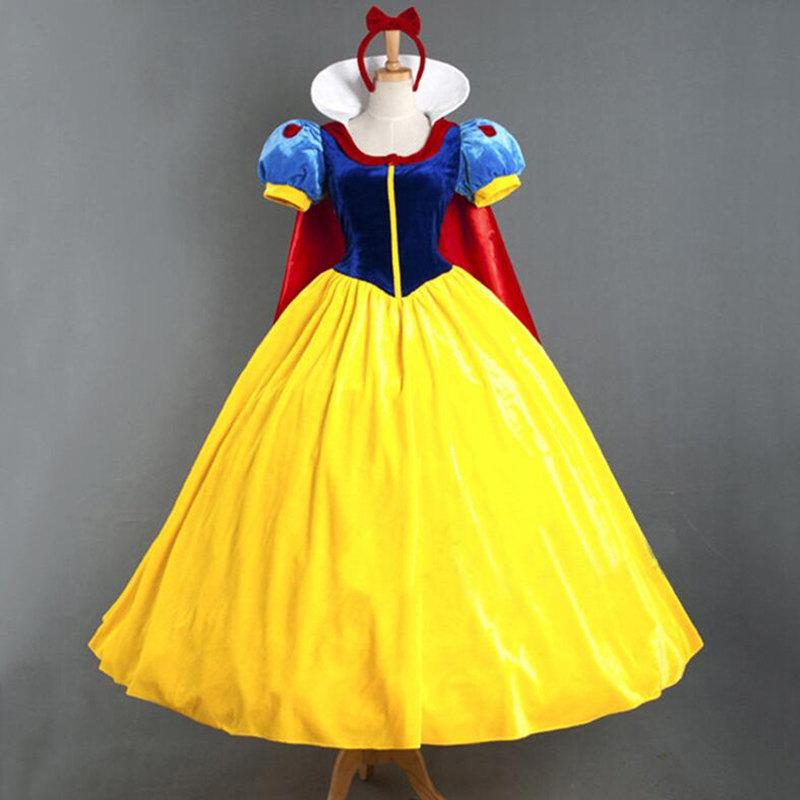 万圣节角色扮演冰雪奇缘艾莎成人白雪公主裙舞台演出cosplay服装z