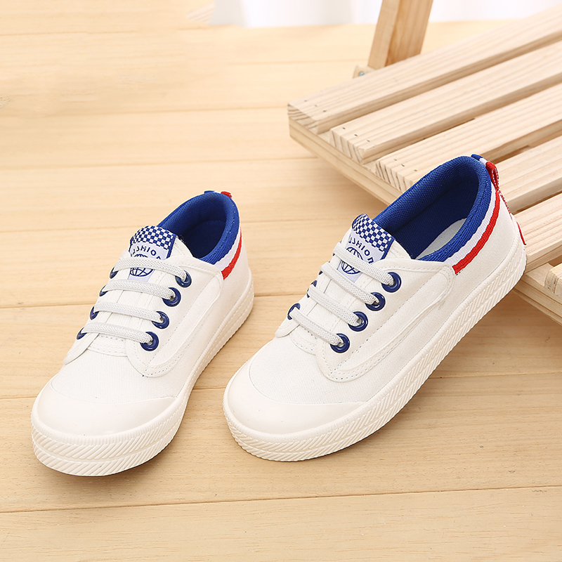 Spring and summer 5 childrens shoes 6 women and men 4 canvas shoes 7 children 8 students leisure 9 small white board shoes 10 Korean version 11 years old 12