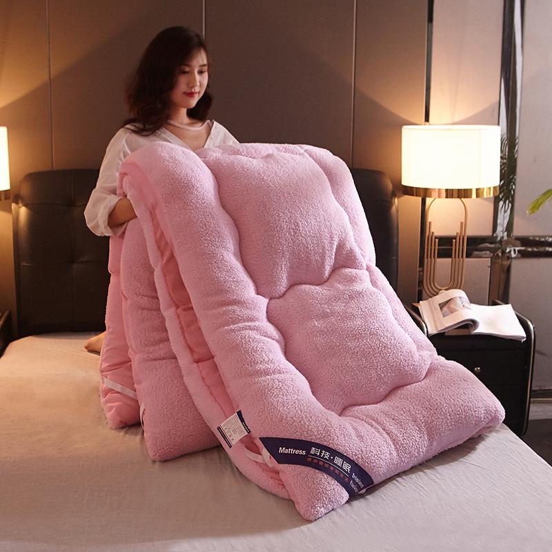 羊羔绒加厚保暖学生宿舍家用床垫券后290.00元